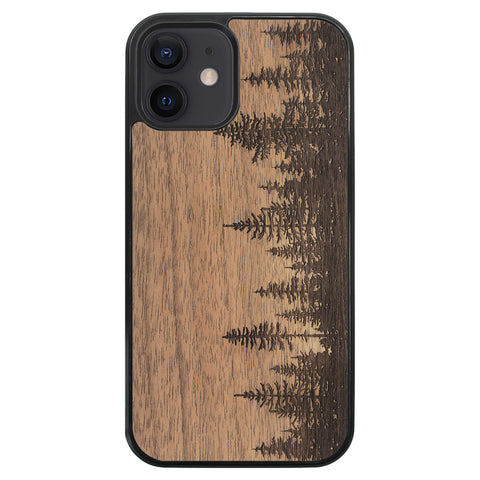 Wooden Case for iPhone 12 Forest