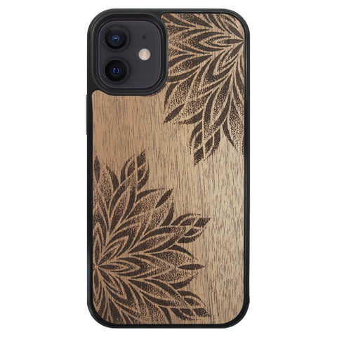 Wooden Case for iPhone 12 Mini Mandalas