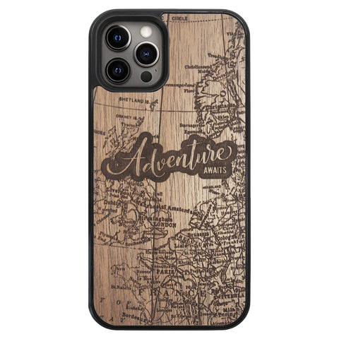 Wooden Case for iPhone 12 Pro Adventure Awaits