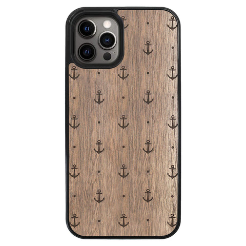 Wooden Case for iPhone 12 Pro Max Anchor