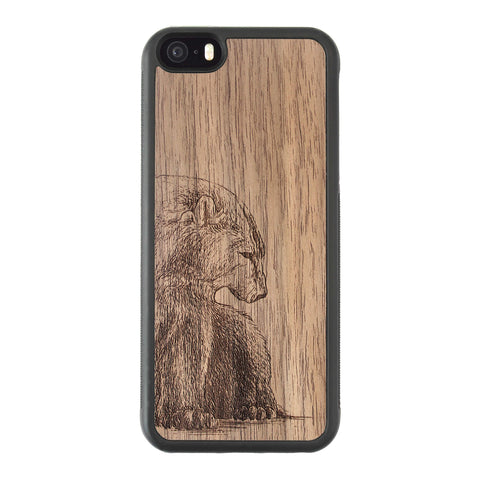 Wooden Case for iPhone 5/5S Bear