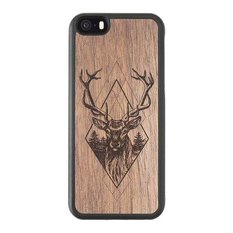 Wooden Case for iPhone 5/5S Deer