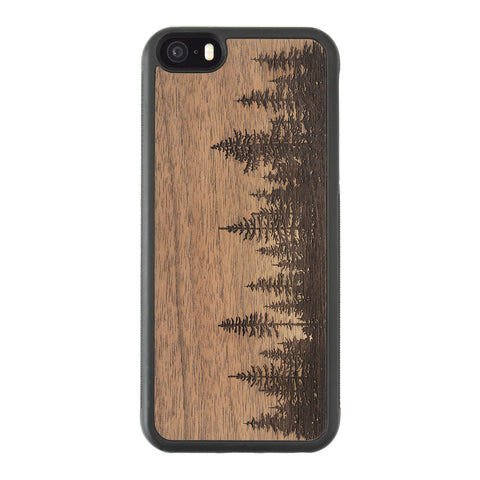 Wooden Case for iPhone 5/5S Forest