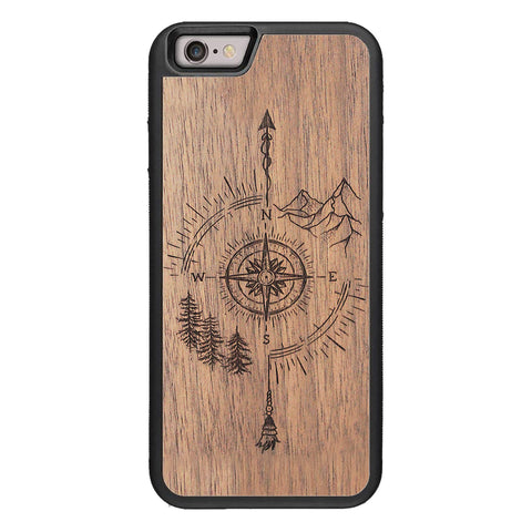 Wooden Case for iPhone 6/6S Go Your Own Way