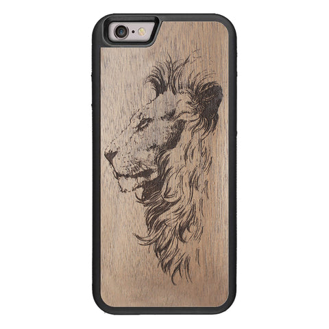 Wooden Case for iPhone 6/6S Lion