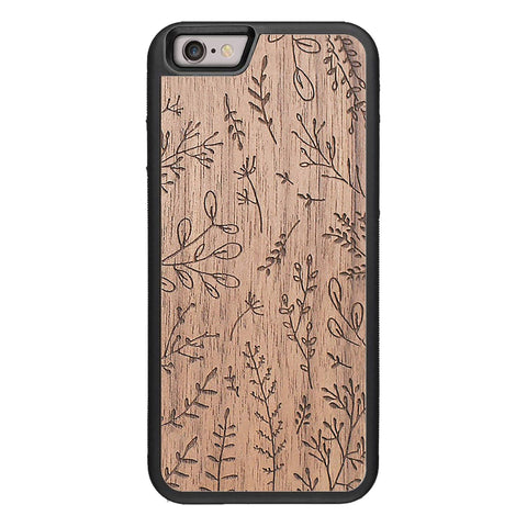 Wooden Case for iPhone 6/6S Plants