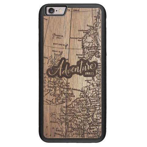 Wooden Case for iPhone 6/6S Plus Adventure Awaits