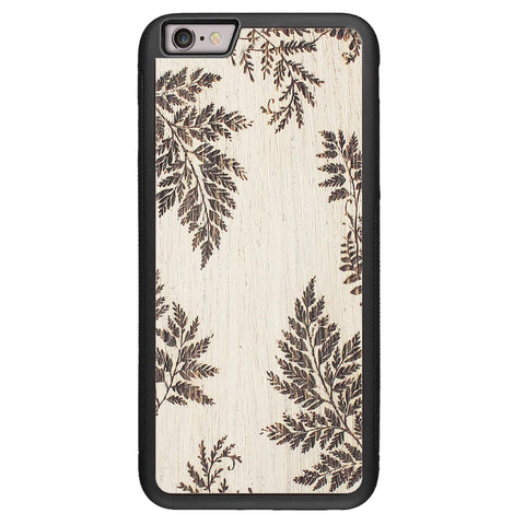 Wooden Case for iPhone 6/6S Plus Fern