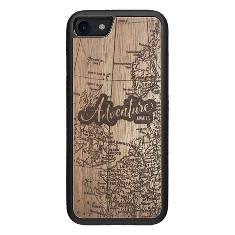 Wooden Case for iPhone 8 Adventure Awaits