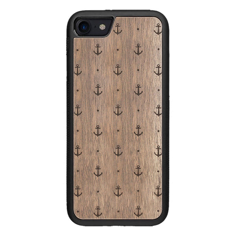 Wooden Case for iPhone 8 Anchor