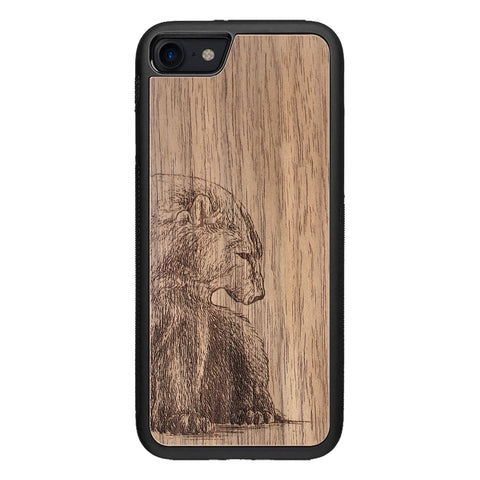 Wooden Case for iPhone 8 Bear