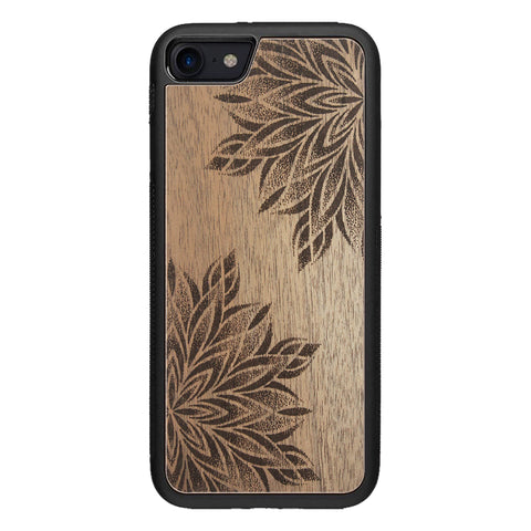 Wooden Case for iPhone 8 Mandalas