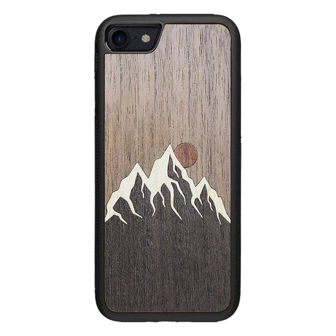 Wooden Case for iPhone 8 Mountain