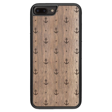 Wooden Case for iPhone 8 Plus Anchor