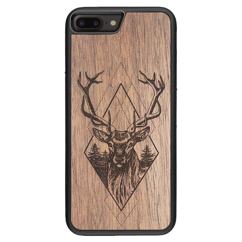 Wooden Case for iPhone 8 Plus Deer
