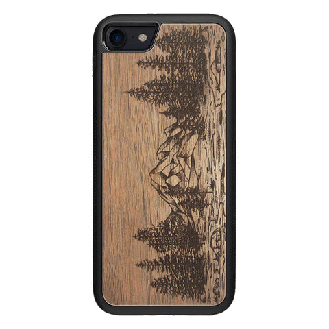Wooden Case for iPhone SE 2 generation case Nature