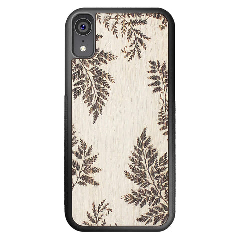 Wooden Case for iPhone XR Fern
