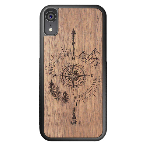 Wood iPhone Case XR Go Your Own Way