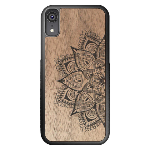 Wooden Case for iPhone XR Mandala