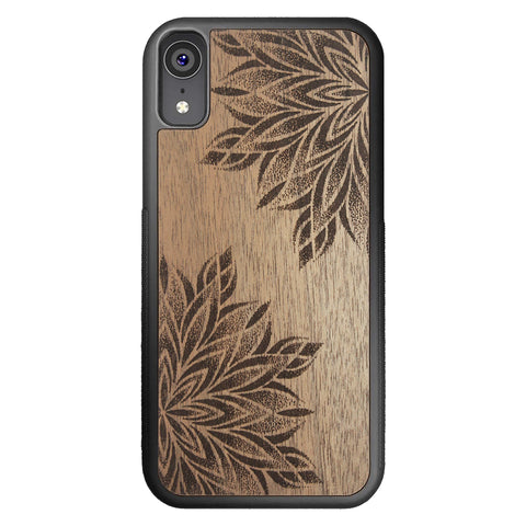 Wood Case for iPhone XR Mandalas
