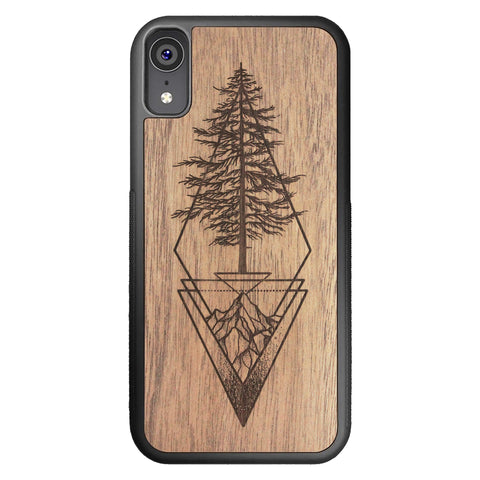 Wooden Case for iPhone XR Picea