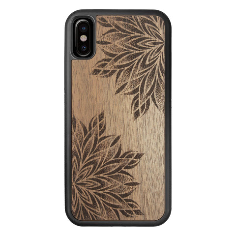 Wood Case for iPhone XS/X Mandalas