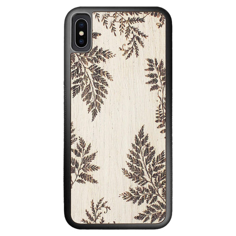 Wooden Case for iPhone XS Max Fern