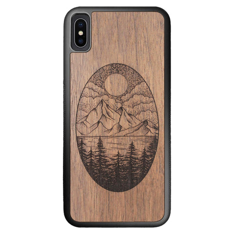 Wooden Case for iPhone XS Max Landscape