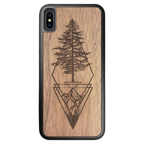 Wooden Case for iPhone XS Max Picea
