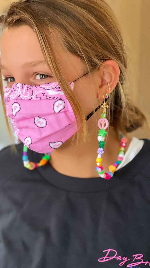 Fairy Face Mask Necklace