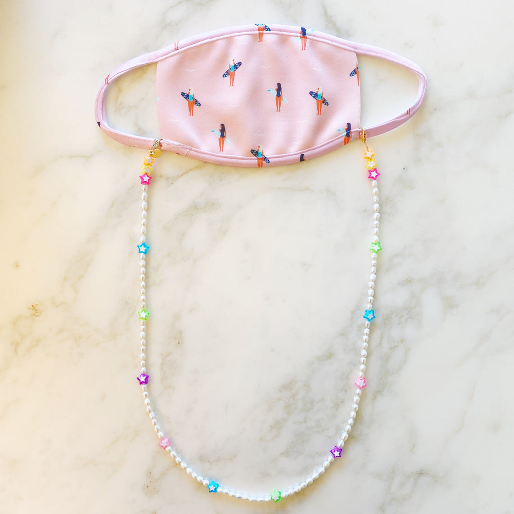 3 in 1: Face Mask & Sunglass Necklace - STARLY PEARL