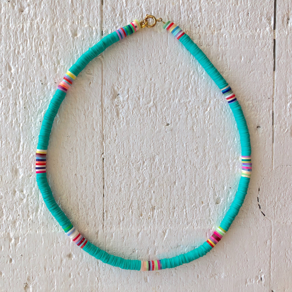 surf necklace turquoise
