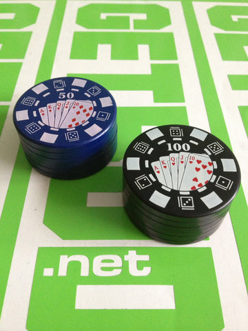 All-In Poker Chip Grinder - 2 Piece