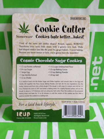 Pot Leaf Cookie Cutter