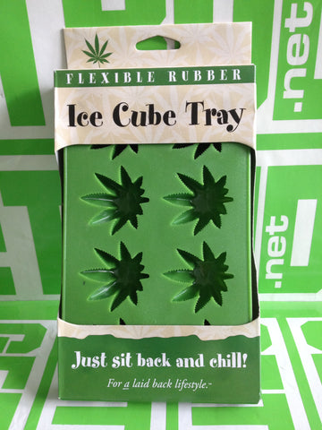 Pot Leaf Ice Cube Tray