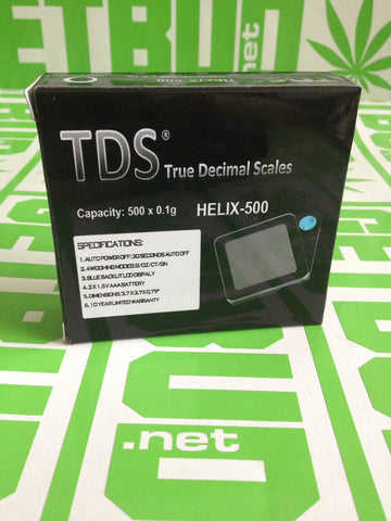 TDS Helix-500 Scale