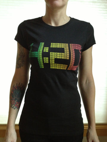 420 Fitted T-Shirt - Rasta Colors