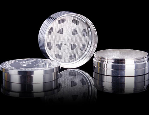 "US ""Silver Dollar"" 3-piece Grinder"