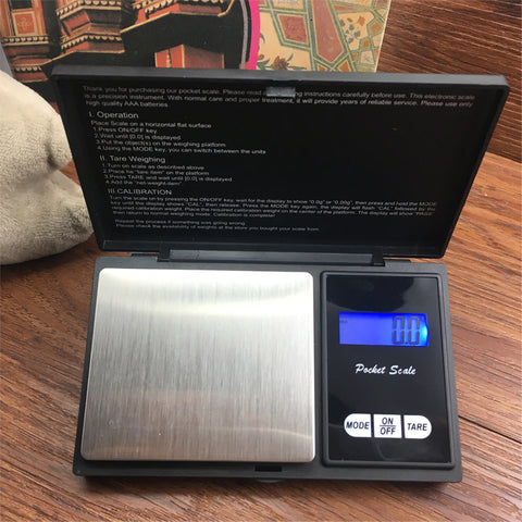 100g or 200g or 500g Digital Pocket Scale