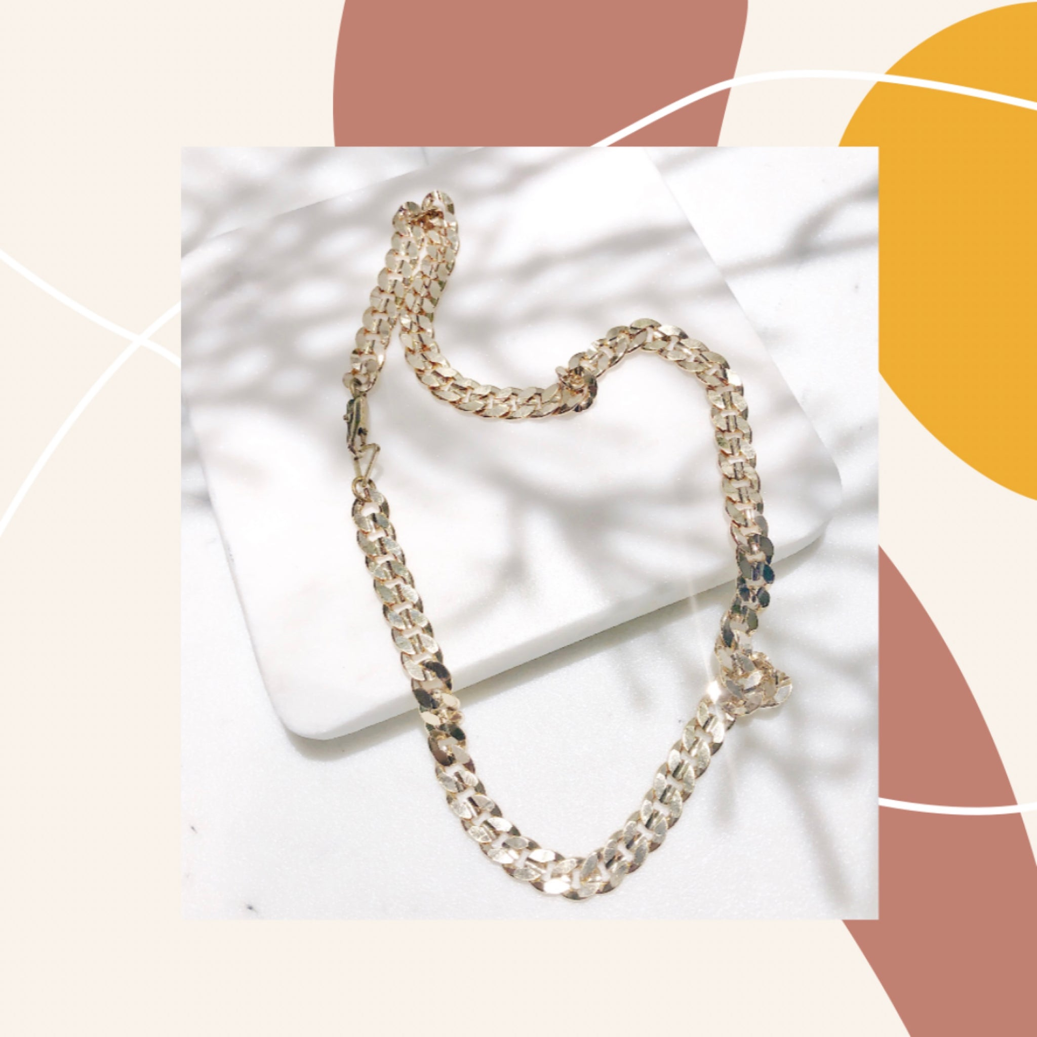 Essential Cecelia Chain Necklace - Aurora Lux Jewellery
