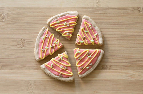 PIZZA SLICE COOKIE