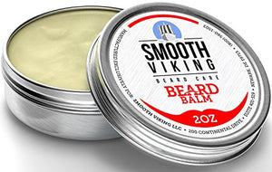 Smooth Viking Beard Balm with Leave-in Conditioner