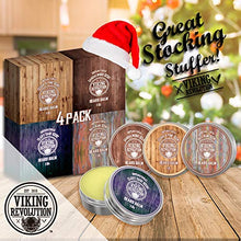 Load image into Gallery viewer, Viking Revolution - 4 Beard Balm Variety Pack