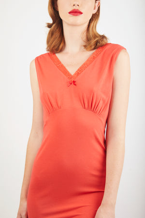 V-Neck Nightdress - Saharan Sand