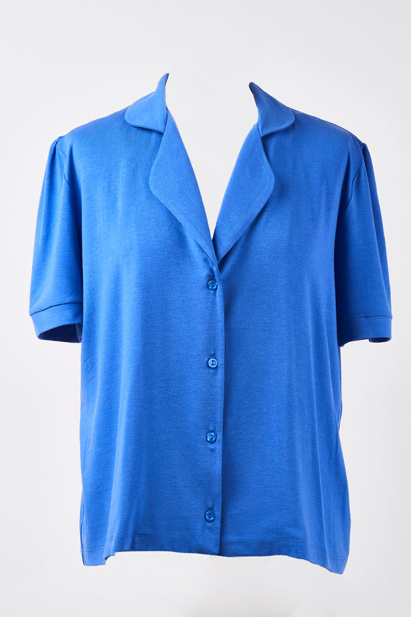 Pyjama Top - Azure Blue
