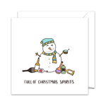 Full of Christmas Spirits - Christmas Card