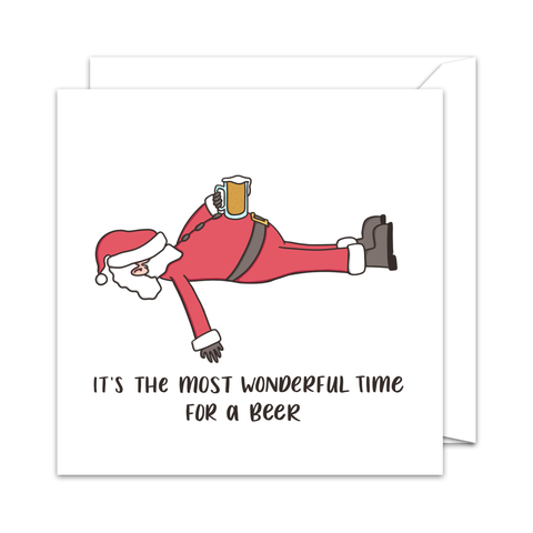 The Most Wonderful Time - Character Christmas Card