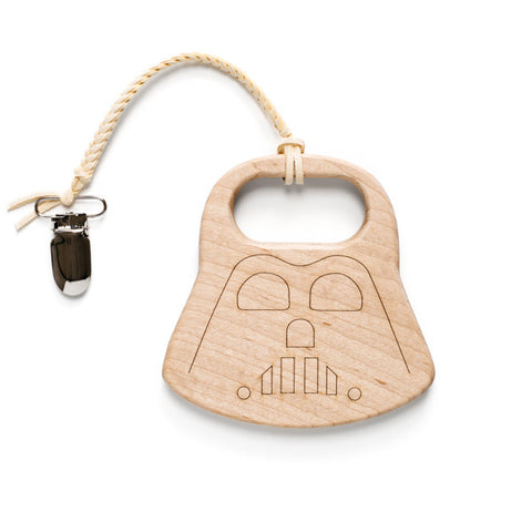 Darth Vader Baby Teether & Clip Set