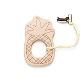 Pineapple Baby Teether & Clip Set