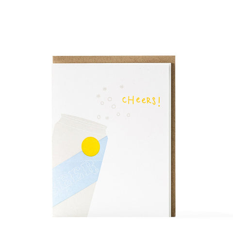 """Beer Cheers"" Card"